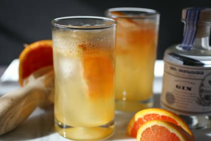 Cara Cara Gin & Tonic: Citrus-y Sweet