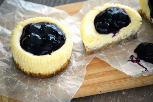 Gluten Free Granola Mini Cheesecakes Image