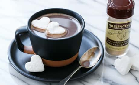 Salted Vanilla Hot Chocolate Recipe