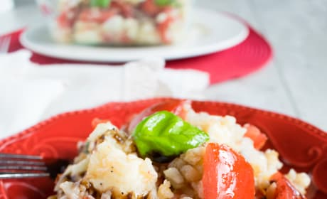 Cauliflower Rice Caprese Pic