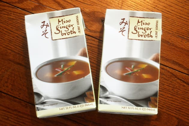 Miso Shrimp Soup with Ramen Image