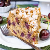 Cherry Zucchini Coffee Cake Recipe