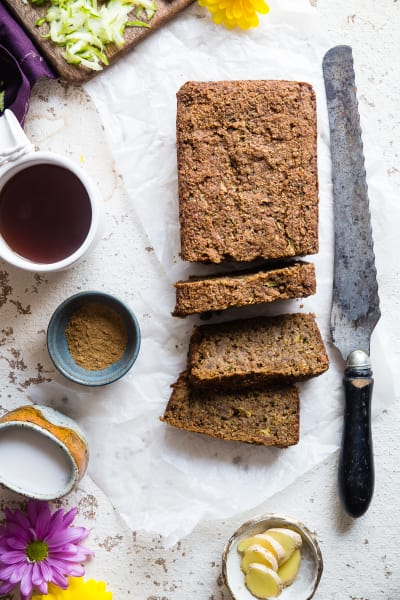 Vegan Zucchini Bread with Five Spice Picture