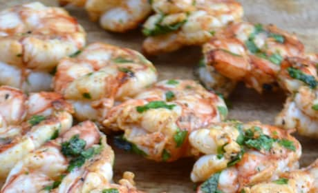 Cilantro Lime Grilled Shrimp Pic