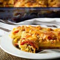 Turkey Manicotti Recipe