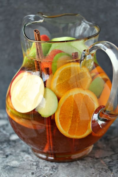 Easy Apple Sangria Image