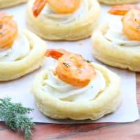 Spicy Shrimp Cream Cheese Tartlets Recipe