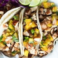 Hawaiian Chicken Tacos Recipe