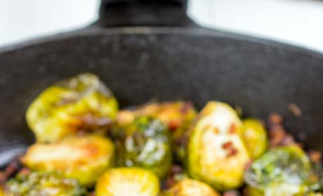 Roasted Brussels Sprouts with Pancetta Picture