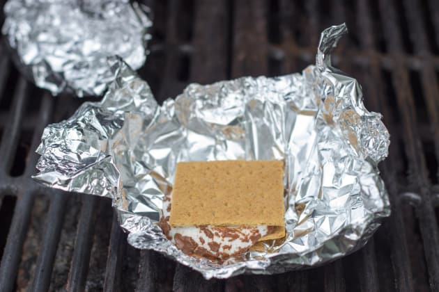 Grilled S'mores Pic