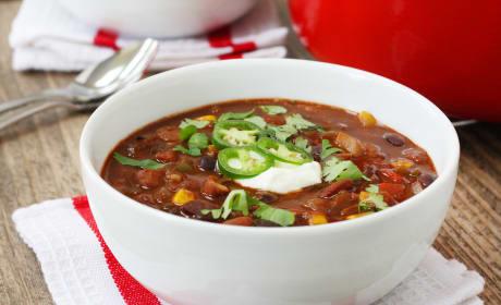 Three Bean Vegetarian Chili Recipe