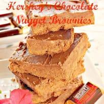 Hershey's Chocolate Nugget Brownies
