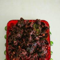 Cheera thornan – stir fry amaranthus greens