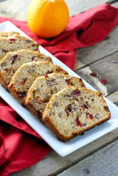 Orange Cranberry Bread Picture