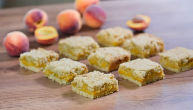 Peach Bars Photo