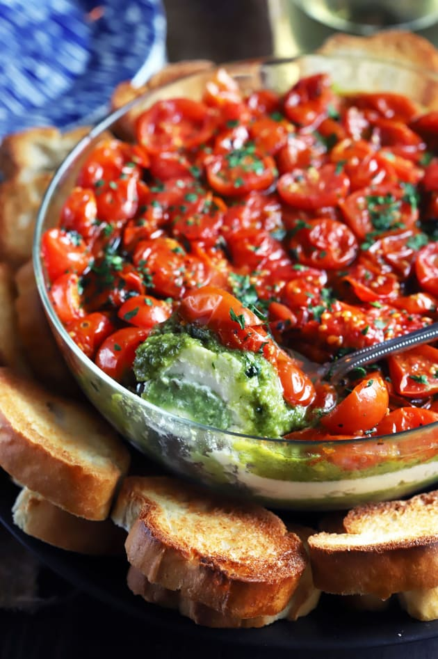 File 4 - Avocado Ricotta Tomato Pesto Layer Dip
