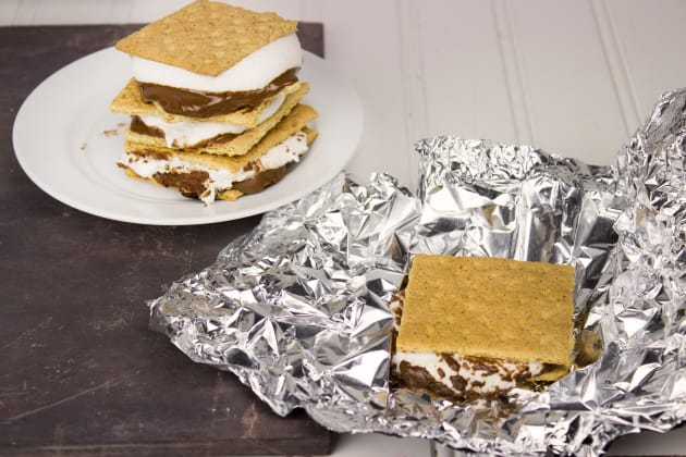 Grilled S'mores Photo