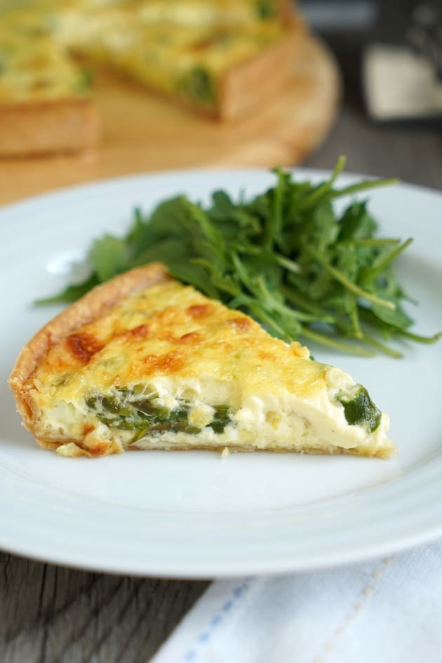 Spring Vegetable Quiche Image