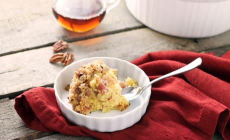Maple Bread Pudding Picture