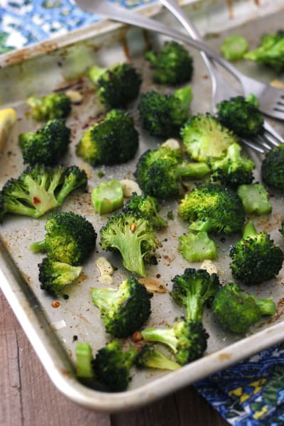 File 2 Toaster Oven Roasted Broccoli