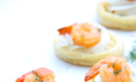 Spicy Shrimp Cream Cheese Tartlets Pic