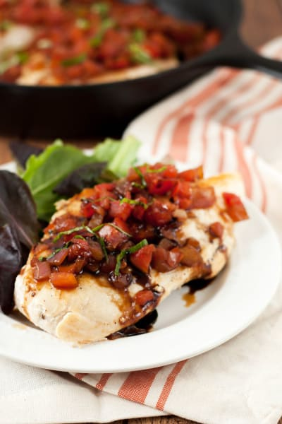 Bruschetta Chicken Skillet Pic