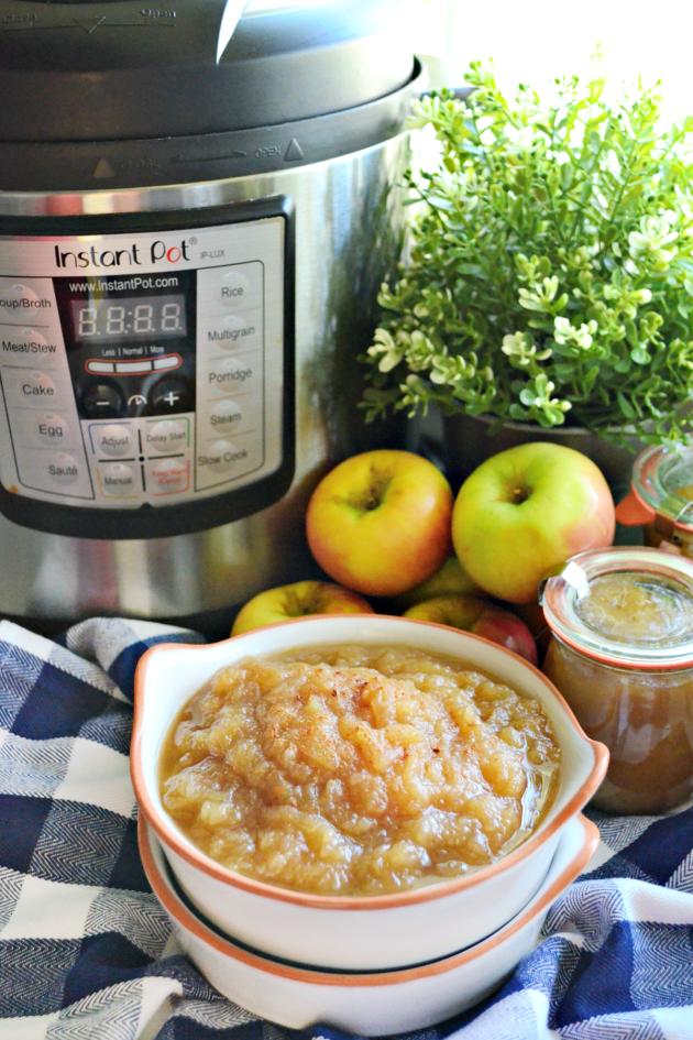 Instant Pot Applesauce Image