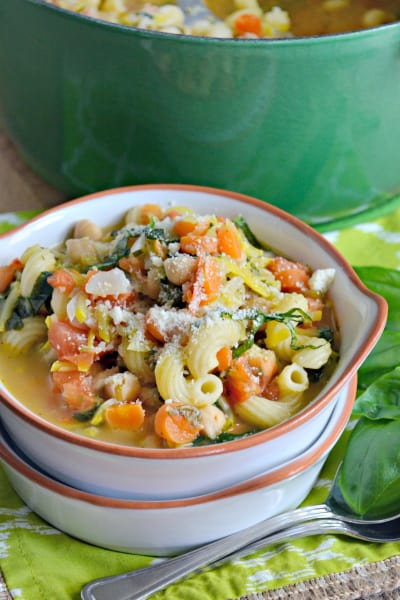 Chickpea Vegetable Soup Pic