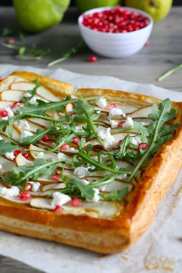 Pear and Goat Cheese Tart Picture