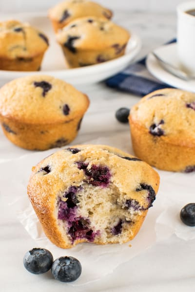 Blueberry Chai Muffins Pic