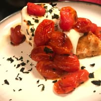 Chicken with Fresh Mozzarella & Roasted Tomatoes