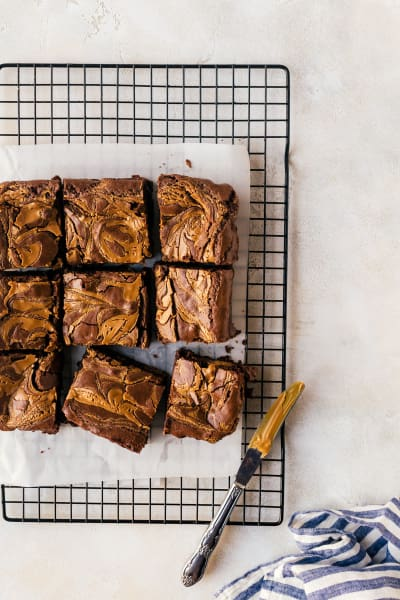Peanut Butter Brownies Pic