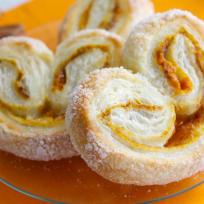 Pumpkin Spice Palmiers Recipe
