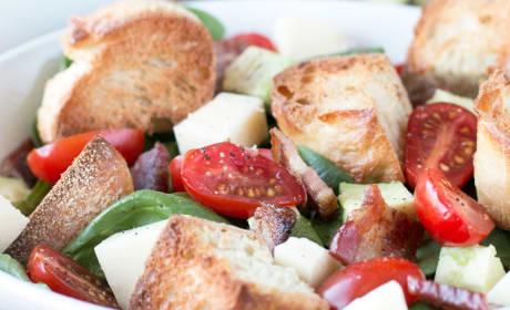 Avocado Caprese Panzanella Salad Recipe