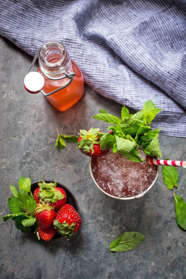 Strawberry Rhubarb Julep Picture