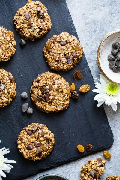 Vegan Gluten Free Oatmeal No Bake Cookies Pic