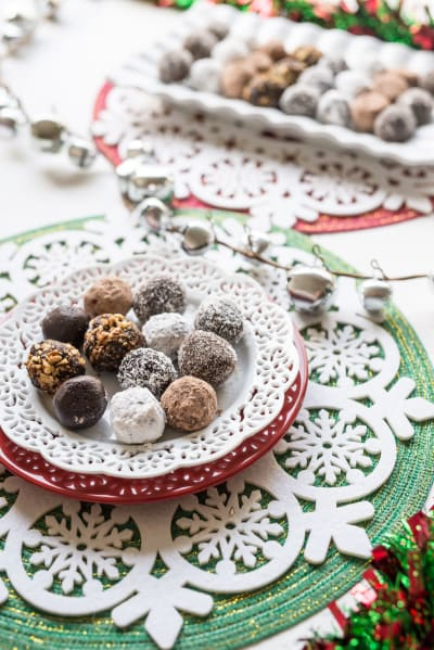 Chocolate Rum Balls Picture