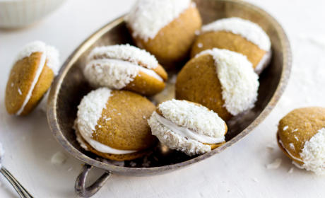 Irresistible Pumpkin Cookies Paired with Coconut