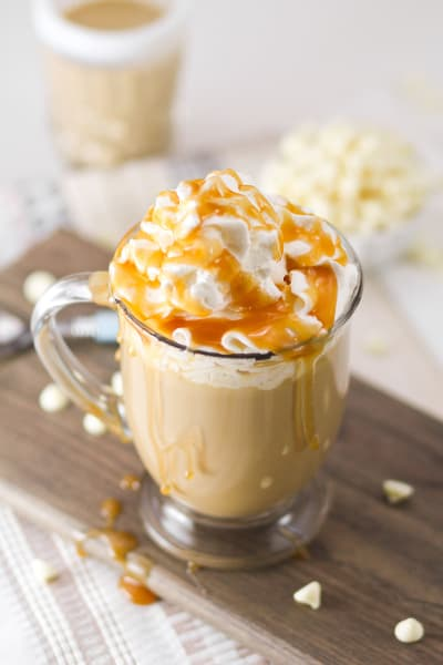 Boozy White Chocolate Milky Way Mocha Image