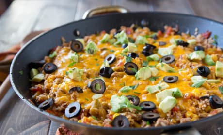 Mexican Rice Skillet Recipe