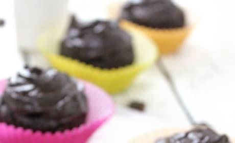 Chocolate Avocado Cupcakes Pic