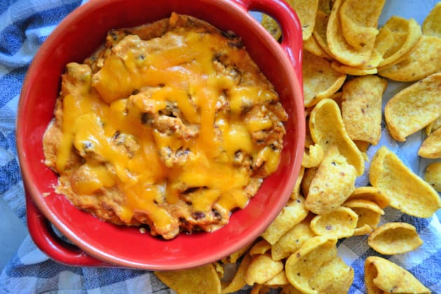 Slow Cooker Chili Cheese Dip Photo