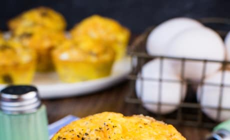 Baked Ham and Cheese Egg Muffins Picture