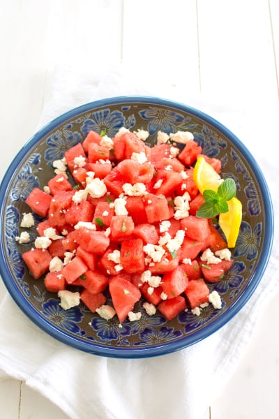 Watermelon and Feta Image