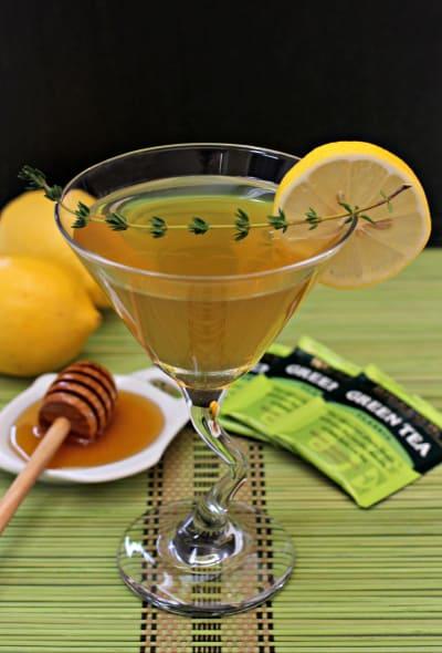 Green Tea Martini Picture