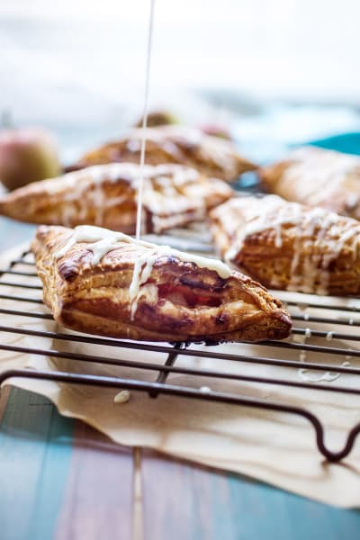 Rum Spiked Apple Turnovers Picture