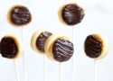 Homemade Twix Cookie Pops