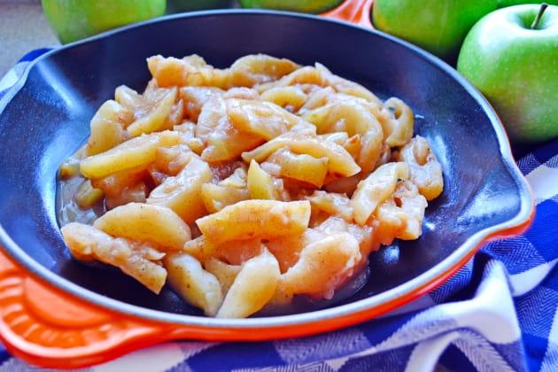 Skillet Cinnamon Apples Image
