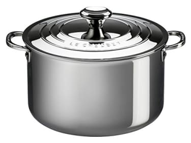 Le Creuset 7-quart Stainless Steel Stockpot Review