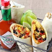Southwestern Breakfast Burritos Recipe
